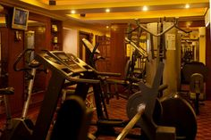 Are you a fitness freak?????  Then don't just let your work outs suffer while you're on a vacation or a business trip.....  Our fitness center offers you the latest equipment & technology to meet all your fitness needs. Stay strong, stay fit and have fun at Country Inn & Suites By Carlson, Haridwar!!!