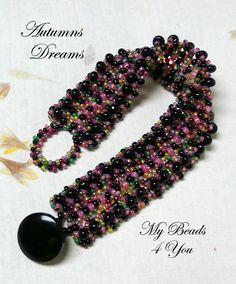 Beading Tutorial Bracelet Patterns Beaded Pattern by mybeads4you