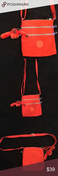 Kipling Alvar cross body bag! Preowned in very good condition body cross bag! kipling Avar Bags Crossbody Bags