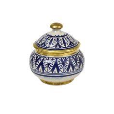 Moroccan Jar/brass Round
