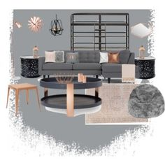 Best Grey Blush Copper Living Room New Home Pinterest 400 x 300