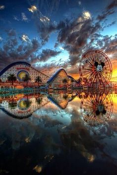 California Adventure! I loved this 10 times better than Disneyland. I could go back for Paradise Pier alone.