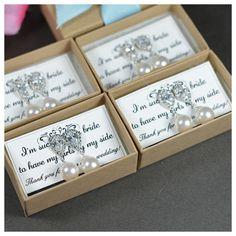 Ivory Pearl Earrings Wedding Earrings by thefabbridaljewelry