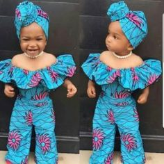 african dress styles Most of us decide on african ankara dresses that provide us with freedom and comfort to decree around. Ankara styles for weekends arrive in many patterns and d Baby African Clothes, African Dresses For Kids, African Babies, African Children, African Print Dresses, African Dress Designs, African Fashion Ankara, Latest African Fashion Dresses, African Wear