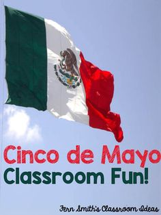 FREE - Eleven Cinco de Mayo Color For Fun Printables for your Classroom. Visit this post for ideas, tips and freebies to have a little Cinco de Mayo fun at your school.