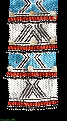 Xhosa Beaded Necklace Love Letters Nelson Collection African