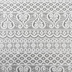 Off White Venetian Roman Yolly Lace Fabric  Pattern by LaceFabrics