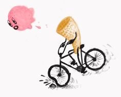 It #happens when i don´t know what´s #happening #IceCream #bike