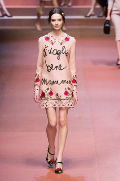 Dolce & Gabbana RTW Fall 2015 look  2 - The Cut