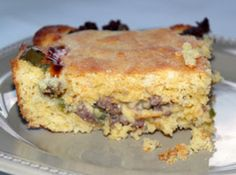 Stuffed Cornbread - got this from justapinch.com, haven't tried it yet but it sounds yummy!