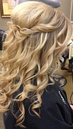 Check out our top 12 prom or wedding hairstyles for long hair | www.jexshop.com/ Find More Beautiful Wedding Dress at http://Nadhaweddingfashion.com
