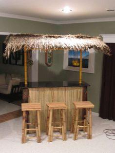 make a pvc bamboo tiki bar using pvc and faux bamboo technique Pool Bar, My Pool, Pvc Pipe Projects, Outdoor Projects, Outdoor Decor, Outdoor Bars, Outside Bars, Tiki Party, Luau Party