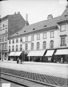 Vienna, Landstraßer Hauptstraße 1900 Urban Planning, Coin, Rue, Hungary, Vienna, Old World, Austria, Street View, Europe