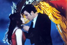 """NICOLE KIDMAN AND EWAN MCGREGOR As Satine and Christian in """"Moulin Rouge"""" (2001)"""
