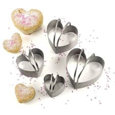 RSVP Endurance Heart Shaped Biscuit Cutter Set of 4 ** Read more at the image link.