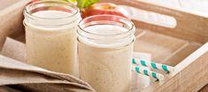 Milchshake mit Apfel, Zimt und Mandeln - Vital kochen