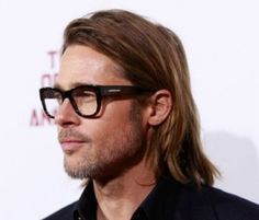 Brad Pitt, the 1 time I find him attractive.