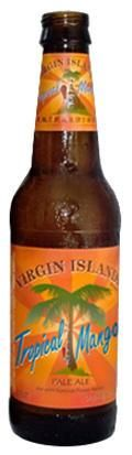 st. john brewers tropical mango beer. best if consumed on a beach in the virgin islands.
