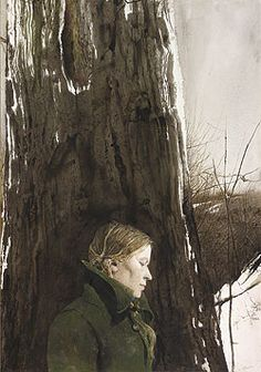 """Refuge"" by Andrew Wyeth (featuring ""Helga"")."