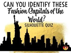 This is a fun activity for anyone teaching FASHION, MARKETING, or GEOGRAPHY.  63 slides. 3 versions of each quiz. 5 embedded video clips. Mini Flip-Book for note-taking. Students will have a challenging time identify the capital cities: Paris, New York, London, Milan, Berlin, Florence, Los Angeles, Tokyo.Be fabulous!Be inspired!