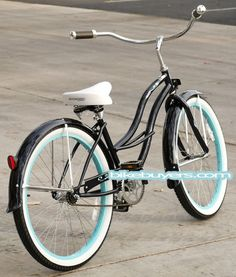 "LADY'S BEACH CRUISER BIKE, TAHITI 26"" BEACH CRUISER BICYCLE FOR WOMEN"