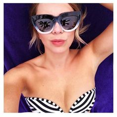 Spotted: @tee_smyth being a #JETSswimwear bikini babe in her Precision stripes Xx