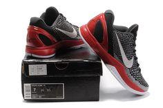 new concept b23a1 2bede Nike Zoom Kobe 6 (VI) Black Varsity Red White
