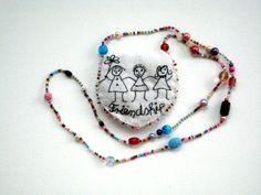 """Ketten lang - Statement Halskette """"Friendship"""" - ein Designerstück von ticinese…"""