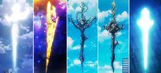 Project K swords
