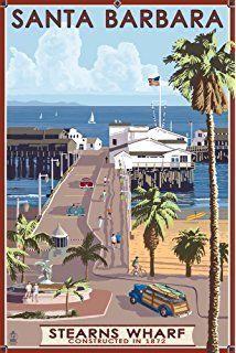 Image result for beach boardwalk travel posters