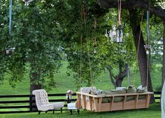 Wow what a place to spend an afternoon with sweetheart, sweet tea and a book!  from dishfunctional Designs blog