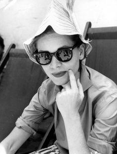 Portrait of Lauren Bacall, 1950's