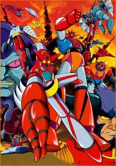 Getta Robot: arriva in prima tv su Man-Ga dal 30 Settembre!