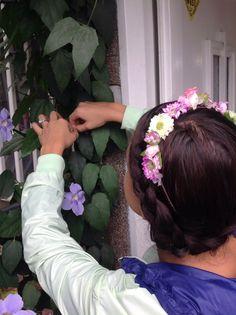 Corona de flores marca Masía Simonetta Summer Trends, Crown, Boho, Handmade, Instagram, Design, Fashion, Crowns, Flowers