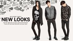 「ROCK H&M DIVIDED JULY STYLES」の画像検索結果