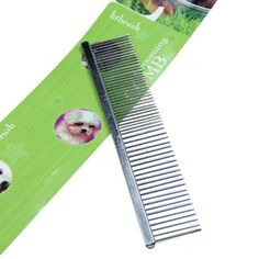 Homedeco Pet Comb Shedding Tool Brush Grooming Dog Cat Hair Stainless Comb -- Find out more about the great product at the image link. (This is an affiliate link) #DogGrooming