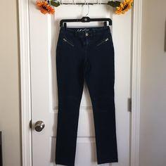 "INC Jeans Brand new. Dark Denim. Cotton and Spandex. Inseam 30"". Regular Fit INC International Concepts Jeans Skinny"
