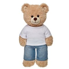 Each and every one of our adorable Teddy bears clothes have a personality of their own. Display yours with Teddy bear clothing from Build-A-Bear Workshop. Custom Teddy Bear, Teddy Bear Clothes, Kid Picks, Boys Wallpaper, Build A Bear, Kid Beds, Plush, Cute, Teddy Bears