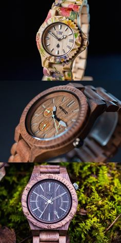 """We-wood eco-friendly Wooden Watches. """"You buy a watch, we plant a tree"""" Click through & buy one! Watch Companies, Wooden Watch, Giving Back, Technology Gadgets, Industrial Design, Unique Gifts, Yanko Design, Watches, Eco Friendly"""