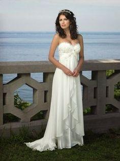 QueUsar.com: Vestido de Novia de Gasa