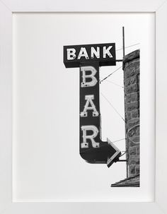 Bank Bar by Calais Le Coq at minted.com