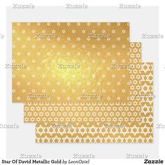 Star Of David Metallic Gold Foil Wrapping Paper Sheets Metallic Gold, Gold Foil, Silver, Out Of The Closet, Foil Paper, Paper Crafts, Diy Crafts, Star Of David, Creative Gifts