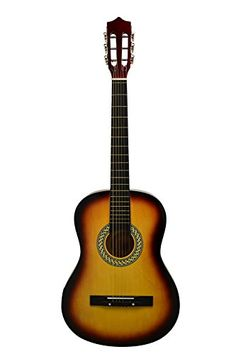 38 SUNBURST Acoustic Starter Guitar 78 Size  DirectlyCheapTM Translucent Blue Medium Guitar Pick -- Read more  at the image link.Note:It is affiliate link to Amazon.
