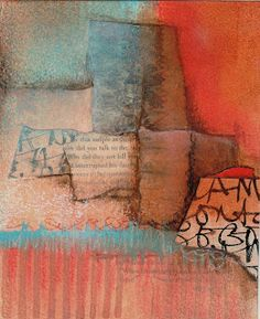 Collage art of Laura Lein-Svencner: Demo's and Layering Exercises