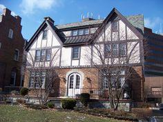 Kappa Alpha Theta Chi Chapter at Syracuse University. The house was designed by a Theta. See http://wp.me/p20I1i-8B.