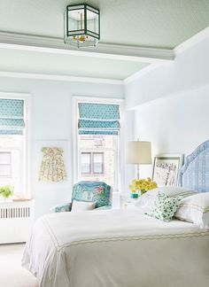 If you've already decided you want to spotlight green or you still need some convincing and inspiration, you're in the right place. We're showcasing designer green bedrooms that set the gold standard for decorating with this nature-inspired color. Keep reading to see how this versatile anchor color can transform just about any bedroom, no matter where it is—an estate, city apartment, or even a mountain chalet. Green Bedrooms, Bedroom Green, Paint Cans, Color Inspiration, Green Colors, Beautiful Homes, Beach House, Room Decor, Nature Inspired