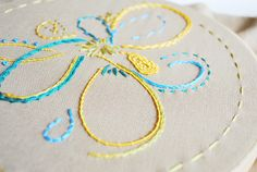 freshness into your embroidery