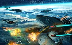 Star Trek: Theurgy Covers, Posters, etc. by Auctor-Lucan on DeviantArt Star Trek Characters, Star Trek Movies, Star Trek Online, Star Trek Starships, Space Pirate, Star Trek Ships, Star Trek Universe, Story Arc, Model Ships