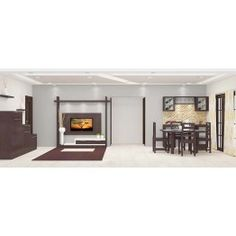 Praia Living Room Set with Laminate Finish