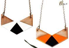 geometric necklaces